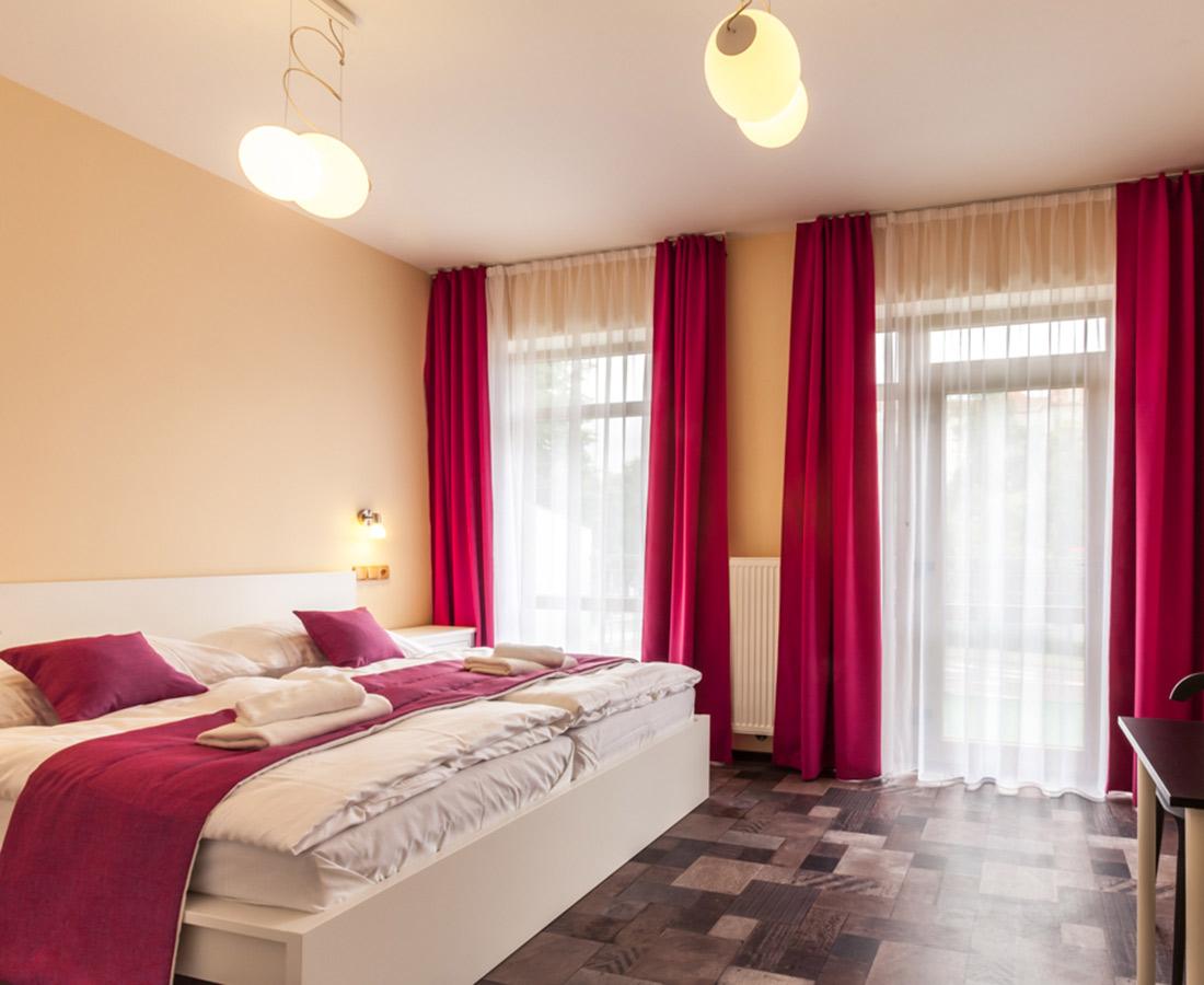 Deluxe Apartment mit Balkon