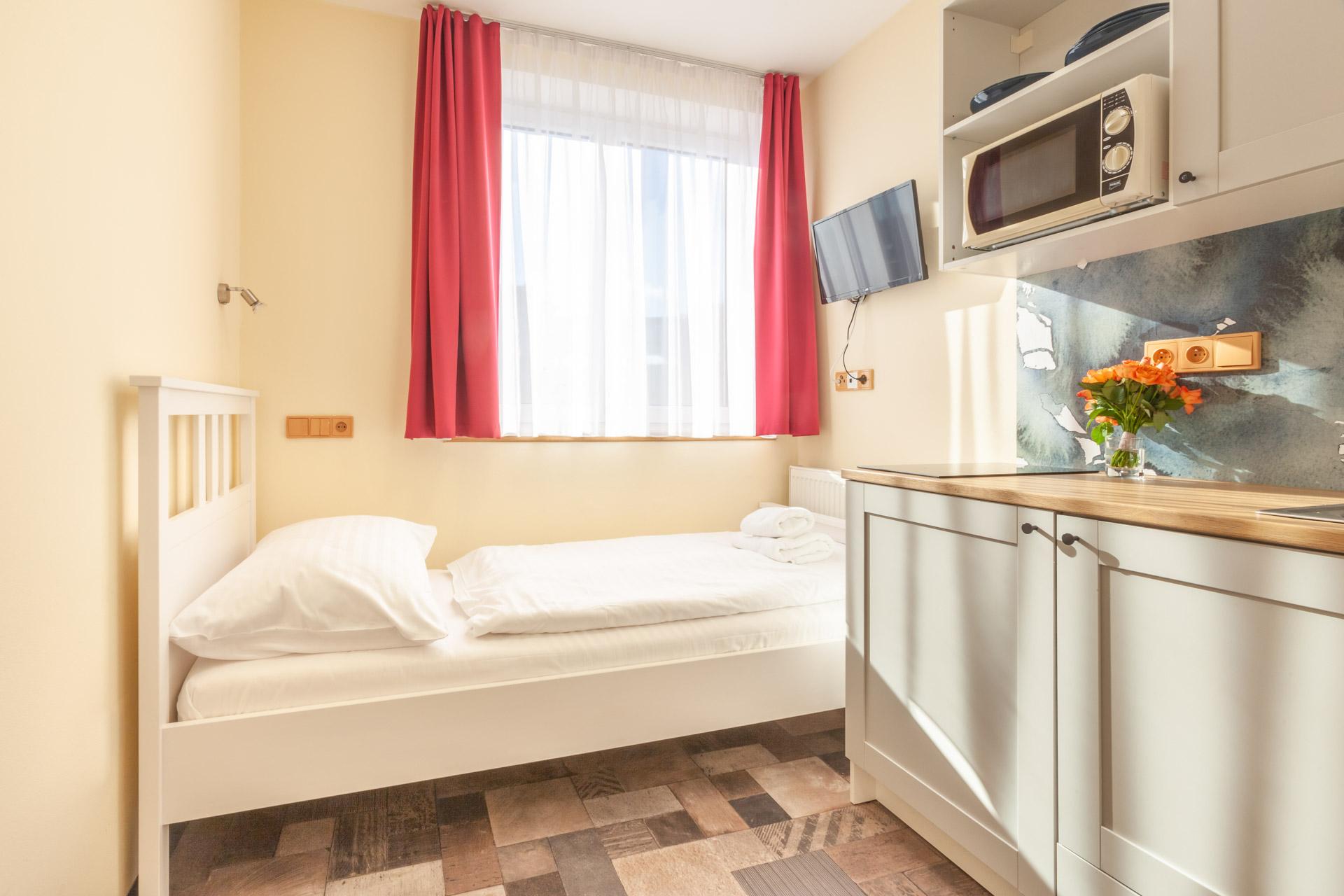 Einzelbett Apartment